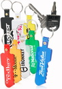 Custom Square Head Key Soft Keychains, Plastic, 2.75