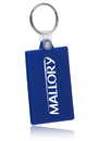 Custom Rectangle Soft Keychains, Soft Plastic, 2.15