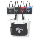 "Carry All Tote Bags, 600D Polyester Exterior, 210D Interior, 17"" W x 14"" H x 5"" D - Blank"