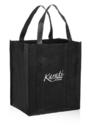 "Custom Reusable Grocery Tote Bags, 80Gsm Non-Woven Polypropylene, 13""W x 10""D x 15""H"
