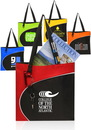 Custom College Shoulder Tote Bags, Tough 600 Denier Color Polycanvas, 15