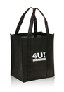 Custom Grande Two Tone Large Grocery Tote Bags, 80 Gsm Non-Woven Polypropylene, 12.375