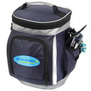 Blank CB4021 Elite Golf Bag Shaped Cooler, Dotted Dobby And 70D Nylon, 8.5