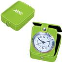 Custom CL4475 Travel Alarm Clock, Pvc Travel Alarm Clock With Second Hand, 3