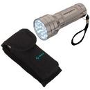 Custom FL4508 21 Led Mini Flashlight, Super Bright 21 Led Mini Flashlight With Wrist Strap, 3.625