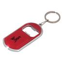 Blank KC8220 Led Keychain With Bottle Opener, Plastic, 1.25