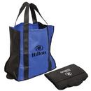 Custom NW4060 Folding Non Woven Tote Bag, Non Woven 95 Gram Polypropylene, 15.5