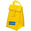 Blank NW6762 Non Woven Insulated Lunch Bag, Non Woven 75 Gram Polypropylene, 6.75