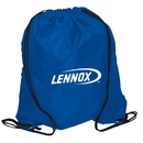 Custom RE4825-C Recycled Drawstring Knapsack, Fabric Constructed Of 300D Polyester, 14.5