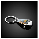 Custom The Silver Apri Key Chain