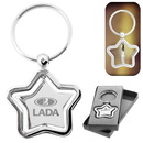 Custom The Silver Stella Spinner Key Chain