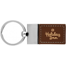 Custom The Bellaire Key Chain with Leather