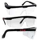 Custom Black Adjustable Ansi Safety Glasses