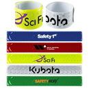 Custom Reflective Slap Wristband, 8 3/4