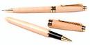 Custom 3623-MAPLE - Impella Wood Rollerball Pen and Pencil Set
