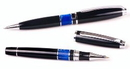 Custom 7813-BLUE - Intrepid Ballpoint Pen &Rollerball Pen Set
