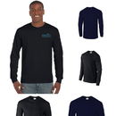 Gildan Ultra Cotton Classic Fit Adult Long Sleeve T-Shirt - 6 oz. - Colors