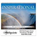 Custom SBC103 - Inspirational Spiral Wall Calendar, 10 1/2