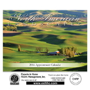 Custom SWC101 - LanDScapes of North America StapLED Wall Calendar, 10 1/2