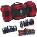 Custom 15524 Travel Blanket, Polyester Polar Fleece