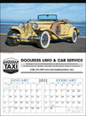 Triumph Custom 3200 Antique Cars Calendar, Offset