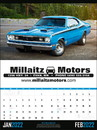 Triumph Custom 3205 Muscle Cars Calendar, Offset