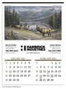 Triumph Custom 3208 Wildlife Art Calendar, Offset