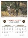 Triumph Custom 3213 Wildlife Calendar, Offset, 17