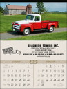 Triumph Custom 3214 Antique Trucks Calendar, Offset