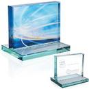 Jaffa Custom 35733 Jade Award with Jade Base - Horizontal, Jade Glass