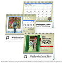 Triumph Custom 4276 The Saturday Evening Post Large Desk Calendar, Digital