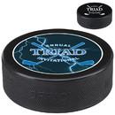 Custom 61674 Hockey Puck, Vulcanized Rubber, 1