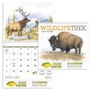 Good Value Calendars Custom 7003 Wildlife Trek - Spiral Calendar, Digital