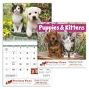 Good Value Calendars Custom 7007 Puppies & Kittens - Spiral Calendar, Digital