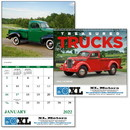 Good Value Calendars Custom 7037 Treasured Trucks - Spiral Calendar, Digital
