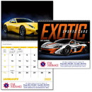 Good Value Calendars Custom 7081 Exotic Sports Cars - Spiral Calendar, Digital