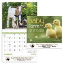Good Value Calendars Custom 7220 Baby Farm Animals - Stapled Calendar, Offset