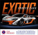 Good Value Calendars Custom 7281 Exotic Sports Cars - Stapled Calendar, Offset