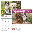 Good Value Calendars Custom 7507 Puppies & Kittens - Window Calendar, Digital
