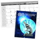 Triumph 820 Standard Year Desk Planner with Custom Cover