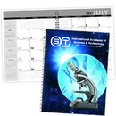 Triumph 821 Academic Year Desk Planner with Custom Cover