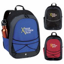 Atchison Custom Ap5390 Tri-Tone Sport Backpack, 600D Polyester