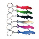 Custom Shark Shape Keychain, 3 3/32