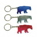 Custom Bear Shape Bottle Opener Keychain