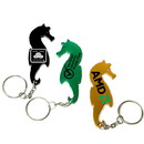 Custom Sea Horse Shape Bottle Opener Keychain, 3