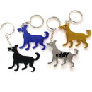 Custom Dog Shape Bottle Opener Key Chain, 2