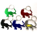 Custom Tiger Shape Bottle Opener Key Chain, 2