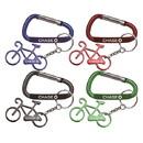 Custom Bicycle Shape Bottle Opener Key Chain, 2 1/4