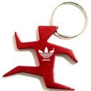 Custom Runner Shape Bottle Opener Key Chain, 1 7/8