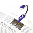 Custom Jumbo Flexible Flashlight and Book Light, 10